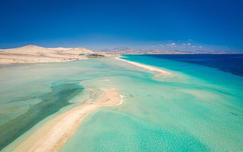 Fuerteventura Strände Sotavento