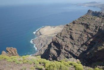 Tamadaba Nationalpark Aussicht