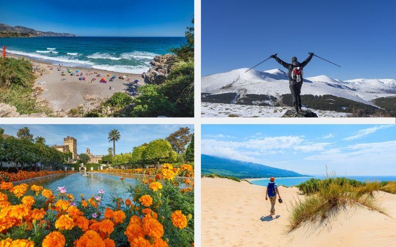 Andalusien Klimazonen