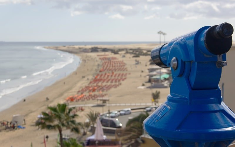 Aussichtspunkt Playa del Inglés