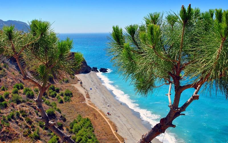 Costa del sol andalusien klima