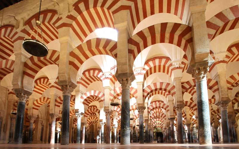 Mezquita-Catedral Säulenhalle
