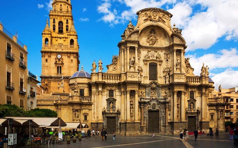 Murcia Altstadt