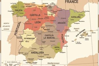 Die 20 Schonsten Regionen Und Provinzen In Spanien Karte