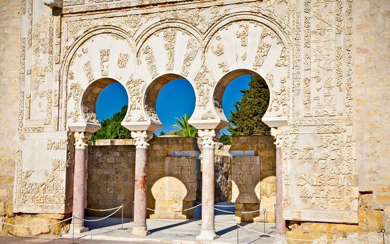 medina de azahar detail