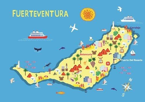 Fuerteventura-Karte