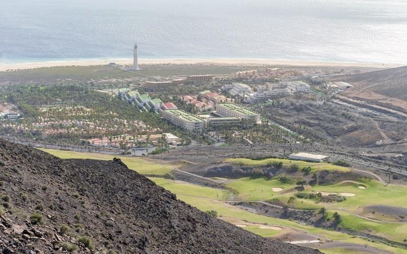 Golfplatz Morro Jable Fuerteventura