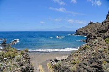 Hermigua Playa de La Caleta