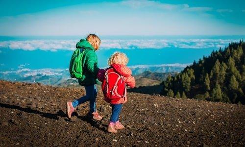 Kinder Wandern Gran Canaria