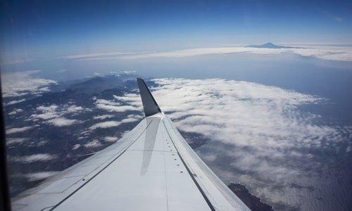 La Gomera Anreise Flugzeug