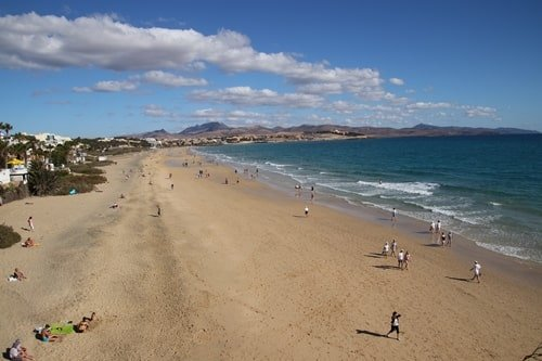 Playa Barca Costa Calma Fuerteventura