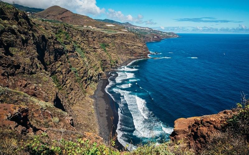 Playa de los Nogales La Palma
