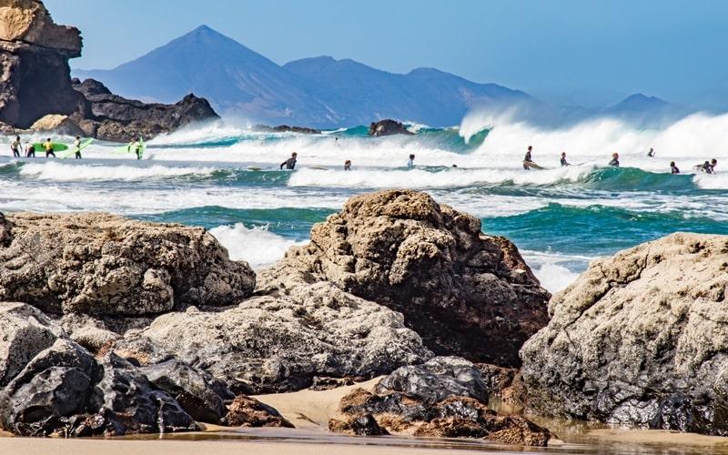 Surfschulen La Pared