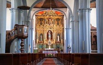 Iglesia de la Concepción Innenraum