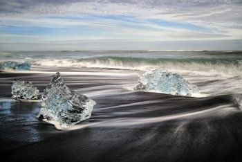 Jökulsárlón Diamond Beach