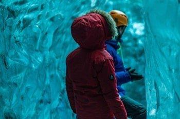 Jökulsárlón Eishöhle