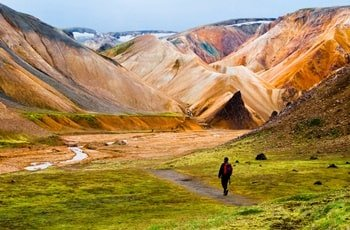 Landmannalaugar Wanderweg