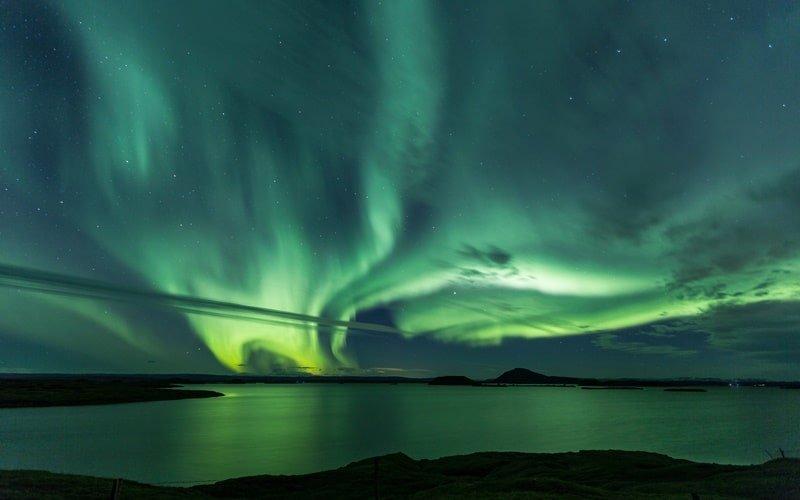 Polarlichter Myvatn